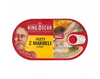Filet z Makreli w Oleju 170g King Oscar