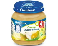 Gerber Deser Gruszki Williamsa 125g.