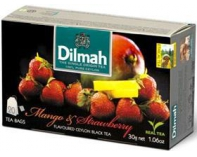 Herbata Dilmah Mango & Strawberry 30g.