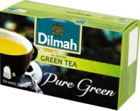 Herbata Dilmah Green Tea Pure Green Saszetka 20tor