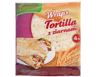 Tortilla Funtastic z ziarnami 250g Develey