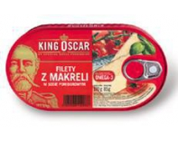 Filet z Makreli w Pomidorach 170g.king Oscar