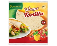 Tortilla Wraps 25cm 4szt 250g Develey.